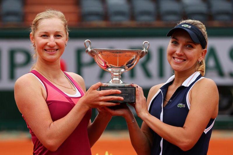 Ekaterina Makarova & Elena Vesnina French Open 2013 Womens Doubles WInners