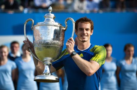 Andy Murray Queens Club 2013 Winner
