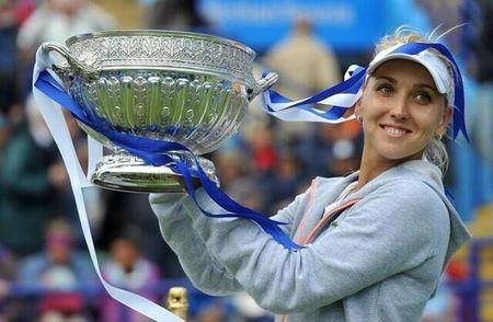 Elena Vesnina Eastbourne 2013 Winner