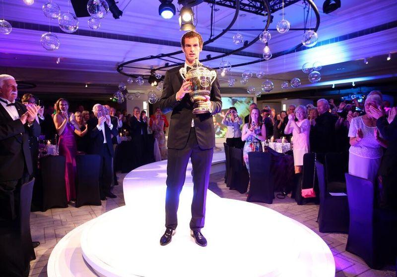 Andy Murray Wimbledon 2013 Champions Dinner