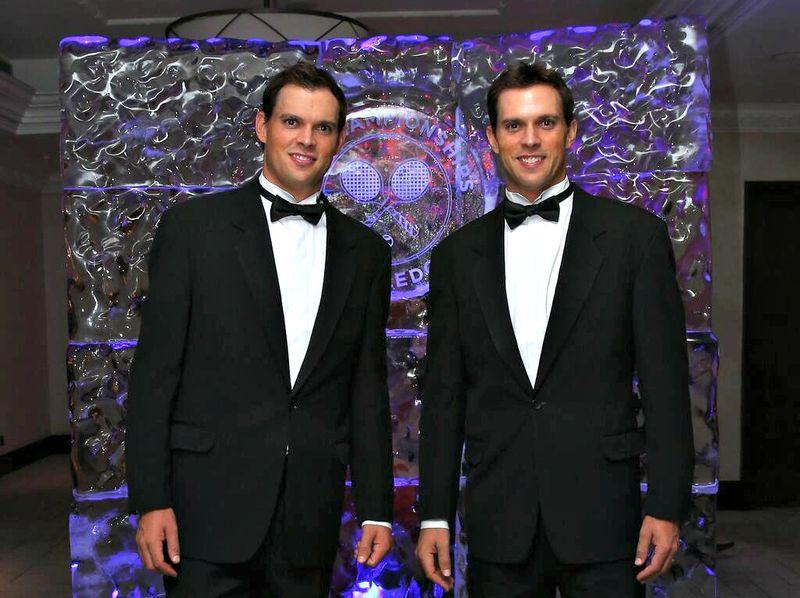 Bryan Brothers Wimbledon 2013 Champions Dinner 2