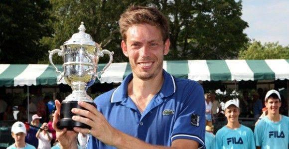 Nicoals Mahut Newport 2013 Winner