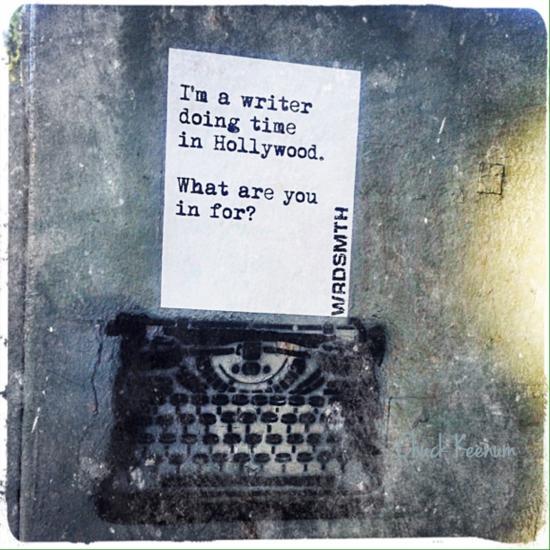 Typewriter Graffiti - Len Angeles