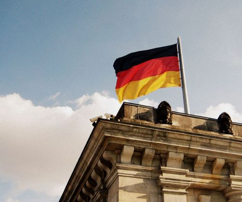 03 The German Flag Flies