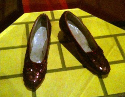 16 Smithsonian: Dorothy's Ruby Slippers