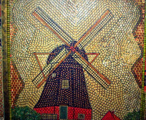 16 Windmill in Tiles