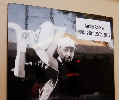 26 Andre Agassi Champion