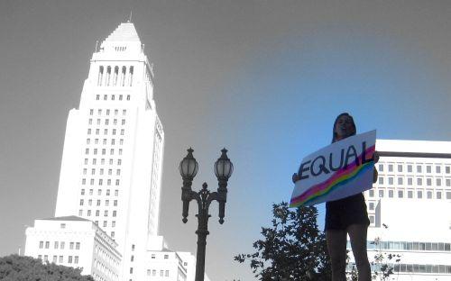 28 March on LA City Hall