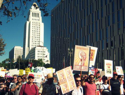 33 March on LA City Hall