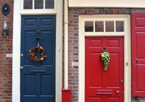 29 Doors of Elfreths Alley
