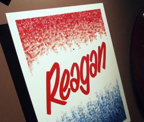 05 Reagan Campaign Sign