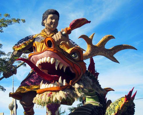 01 Samurai and Dragon