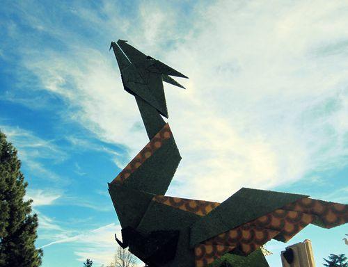 08 Origami Dragon